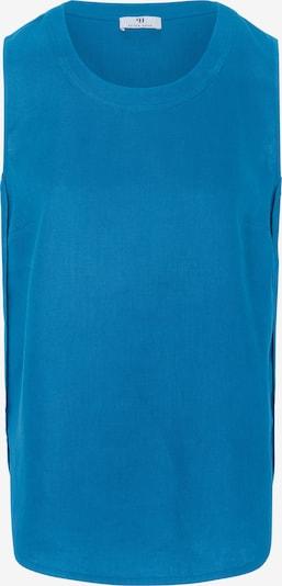 Peter Hahn Top aus Leinen in blau, Produktansicht