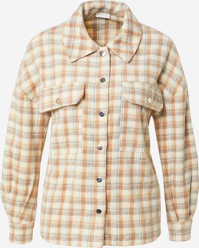 VILA Between-Season Jacket 'SARAS' in Beige / Smoke blue / Light brown, Item view