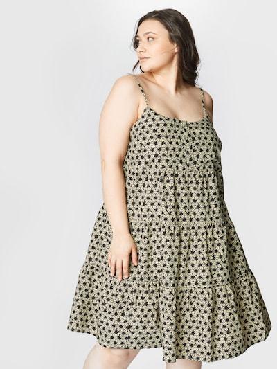 bézs / fekete Levi's® Plus Nyári ruhák 'MARA', Modell nézet