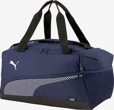 PUMA Sports Bag in marine blue / Black / White, Item view