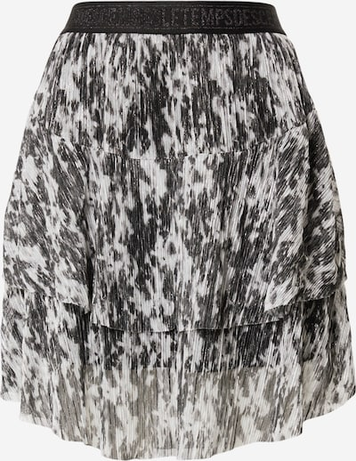Le Temps Des Cerises Rok 'Tiffani' in de kleur Zwart / Wit, Productweergave