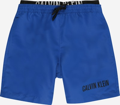 Calvin Klein Swimwear Badehose in blau / schwarz / weiß, Produktansicht