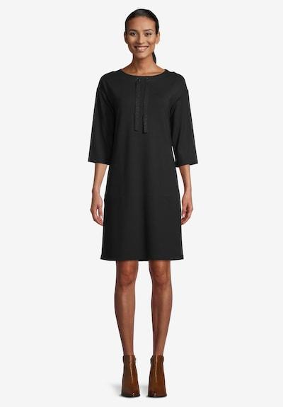 Betty Barclay Jerseykleid mit 3/4 Arm in schwarz, Modelansicht