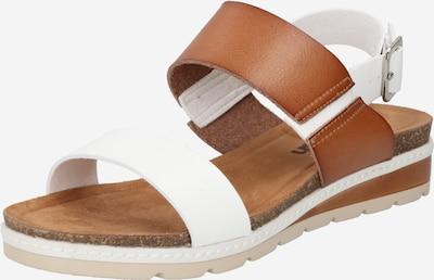 Refresh Strap sandal in Caramel / White, Item view