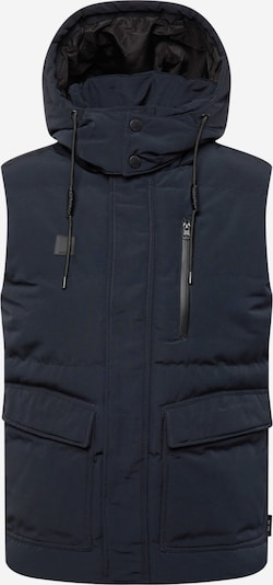 Vestă 'Barnett' INDICODE pe bleumarin / negru, Vizualizare produs