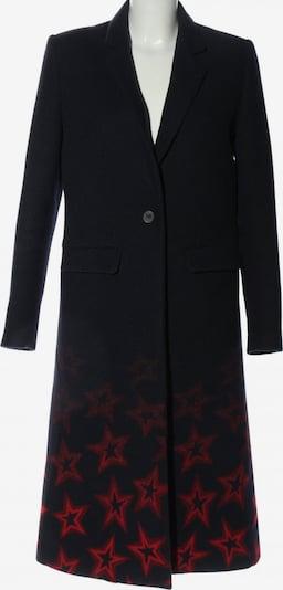 TOMMY HILFIGER Wollmantel in S in blau / rot, Produktansicht