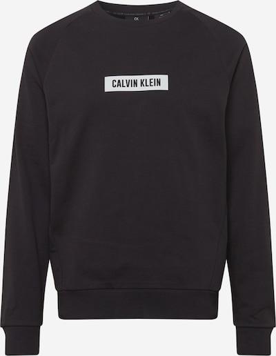 Calvin Klein Performance Sportief sweatshirt in de kleur Zwart / Wit, Productweergave