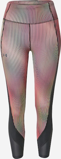 UNDER ARMOUR Športne hlače 'Fly Fast' | neonsko rumena / roza / črna barva, Prikaz izdelka