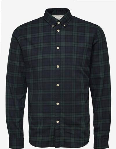 SELECTED HOMME Koszula w kolorze ciemny niebieski / ciemnozielony / czarnym, Podgląd produktu