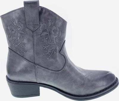 UTS Accessoires Bottes de cowboy en gris / noir, Vue avec produit