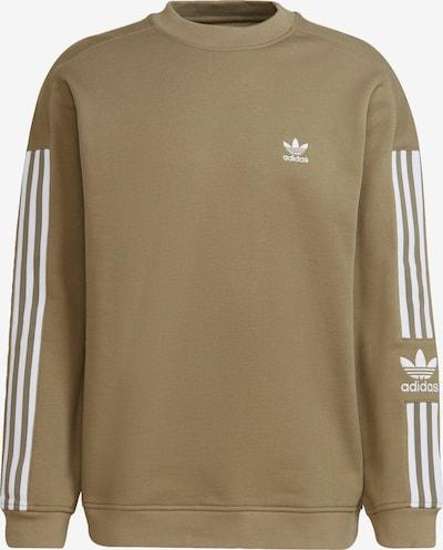 ADIDAS ORIGINALS Sweatshirt in oliv / weiß, Produktansicht