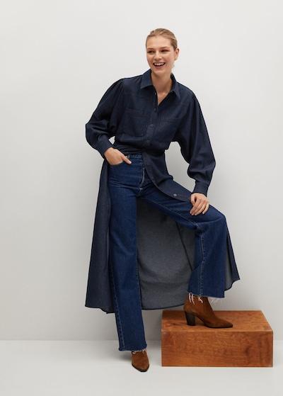 MANGO Kleid 'Demi' in dunkelblau, Modelansicht