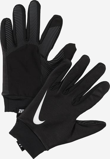 NIKE Gants de sport en noir, Vue avec produit