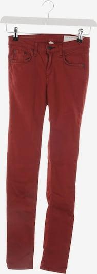 rag & bone Jeans in 24 in rot, Produktansicht