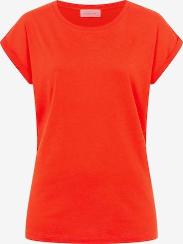 Cotton Candy Shirt 'DENIZ' in Orange
