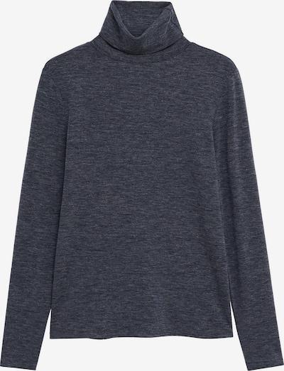 MANGO Shirt 'SECOND 8' in dunkelgrau, Produktansicht