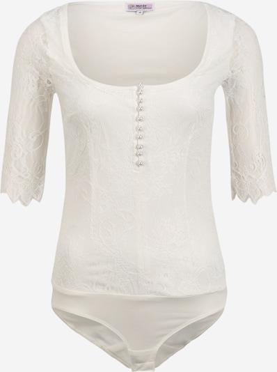 MARJO Blouse body in de kleur Offwhite, Productweergave
