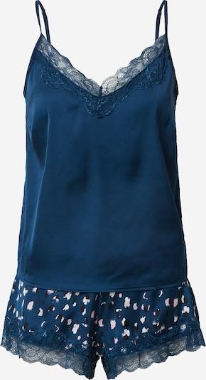 ESOTIQ Szorty 'ELDA' w kolorze ciemny niebieski / różowy pudrowym, Podgląd produktu