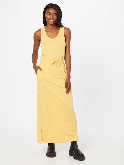 s.Oliver Kleid in gelb, Modelansicht