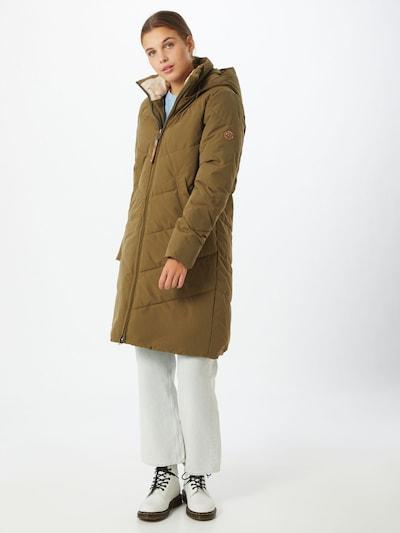 Ragwear Zimný kabát 'Rebelka' - olivová, Model/-ka
