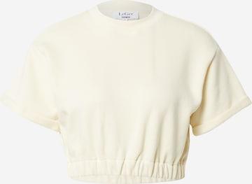 Sweat-shirt 'Sigrun' LeGer by Lena Gercke en beige