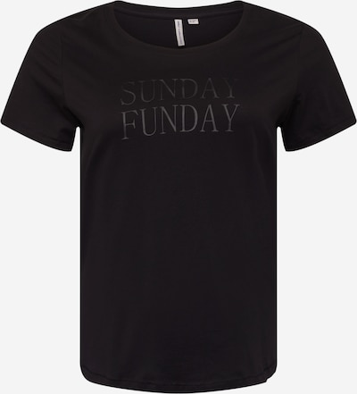 ONLY Carmakoma T-Shirt 'Strong' in schwarz, Produktansicht