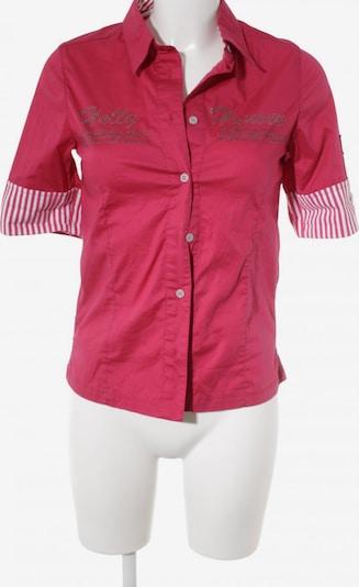 HELLY HANSEN Kurzarmhemd in S in magenta / weiß, Produktansicht