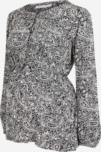 noppies Studio Bluse in schwarz / weiß, Produktansicht