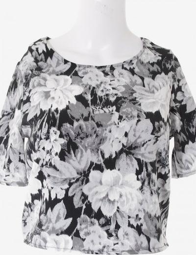 Oh my Love Cropped Shirt in XS in grau / hellgrau / schwarz, Produktansicht
