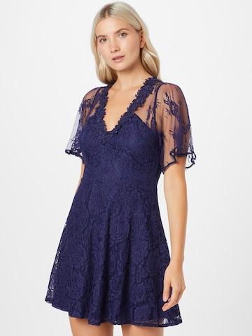Forever Unique Cocktailklänning i blå