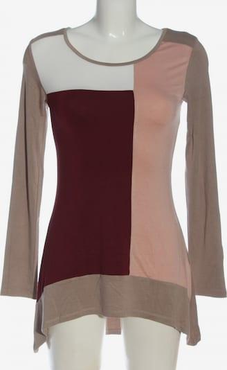 BOYSEN'S Longshirt in XS in nude / braun / rot, Produktansicht