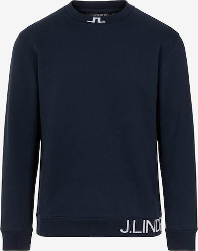J.Lindeberg Sweatshirt in de kleur Donkerblauw, Productweergave