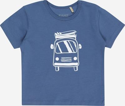 KANZ T-Shirt en bleu-gris / blanc, Vue avec produit