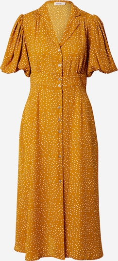 Louche Kleid in gelb / weiß, Produktansicht