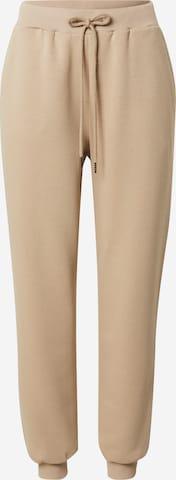 Pantalon 'Luisa' ABOUT YOU x Swalina&Linus en beige