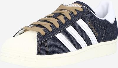 Sneaker bassa 'SUPERSTAR' ADIDAS ORIGINALS di colore blu scuro / bianco, Visualizzazione prodotti