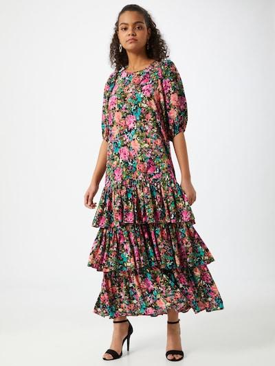 Gina Tricot Kleid 'Aria' in mischfarben / pink, Modelansicht