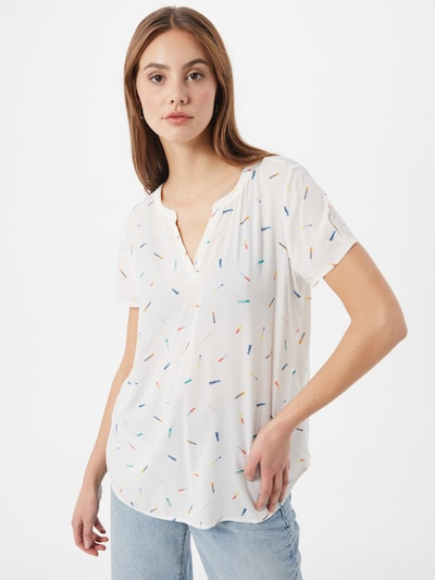 ESPRIT Blusenshirt in weiß, Modelansicht