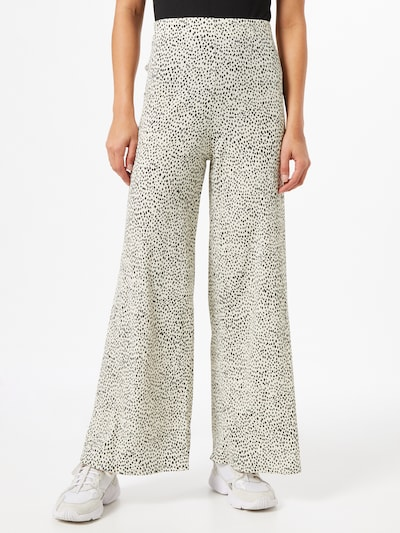 Pantaloni Dorothy Perkins pe negru / alb, Vizualizare model