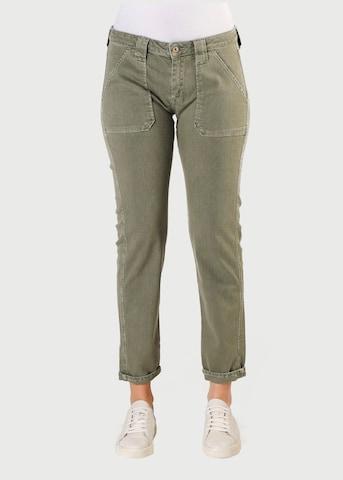 Le Temps Des Cerises Jeans in Grün