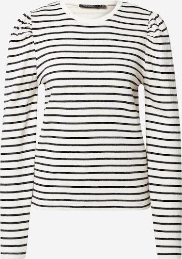 SOAKED IN LUXURY T-shirt 'Inge' en noir / blanc, Vue avec produit