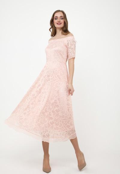Madam-T Cocktailkleid 'AZALIA' in orange / rosa, Modelansicht