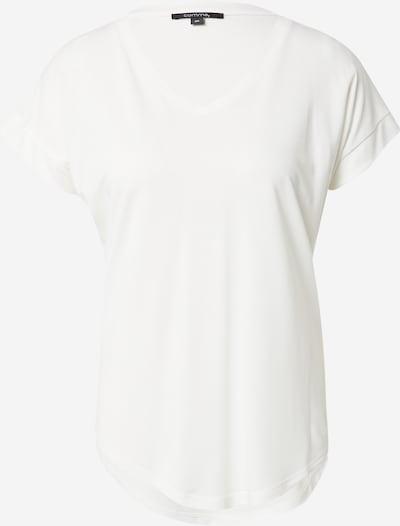 Tricou COMMA pe alb, Vizualizare produs