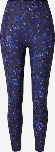 ONLY PLAY Sportbroek 'ANUKI' in de kleur Blauw / Marine / Wit, Productweergave