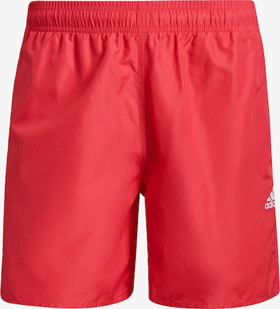 ADIDAS PERFORMANCE Sports swimming trunks in Pink / White, Item view