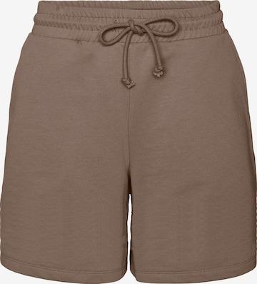 VERO MODA Shorts 'Octavia' in Braun