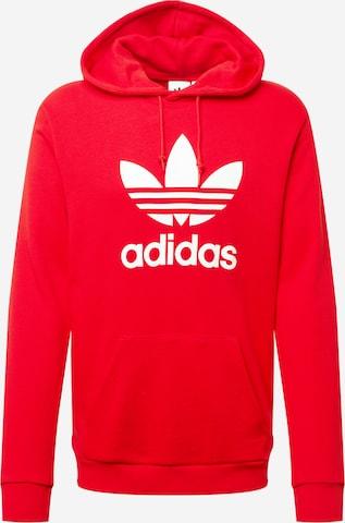 ADIDAS ORIGINALS Sweatshirt in Red