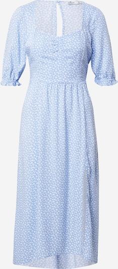 HOLLISTER Лятна рокла в светлосиньо / бяло, Преглед на продукта