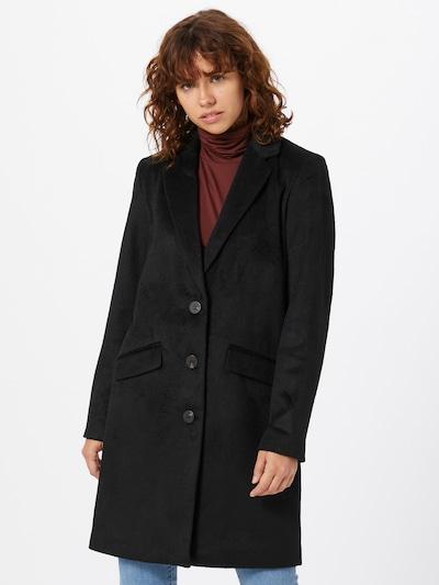 Rudeninis-žieminis paltas iš VILA , spalva - juoda, Modelio vaizdas