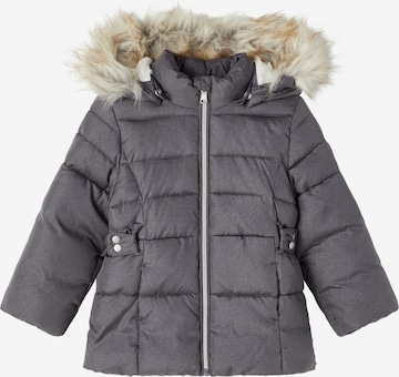 NAME IT Winter Jacket 'Merethe' in Grey